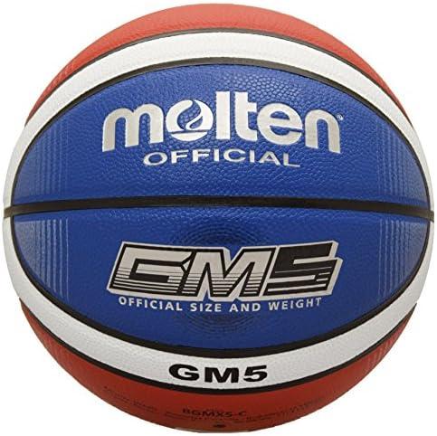 Molten bgmx-cバスケットボール、レッド/ホワイト/ブルー