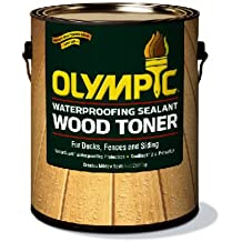 Waterproofing Sealant Wood Toner - Honey Gold