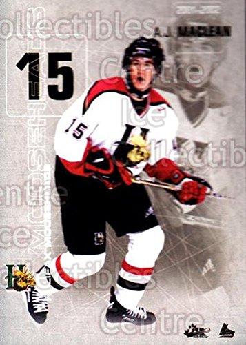 AJ MacLean Hockey Card 2001-02 Halifax Mooseheads 16 AJ MacLean (Aj Maclean compare prices)
