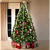 Green Canadian Pine Luxury Artificial Christmas Tree | 6.5 ft Tall (195cm) Nearly 4ft Wide | Modern, Stylish & Contemporary Quality Xmas Trees by Vert Lifestyle