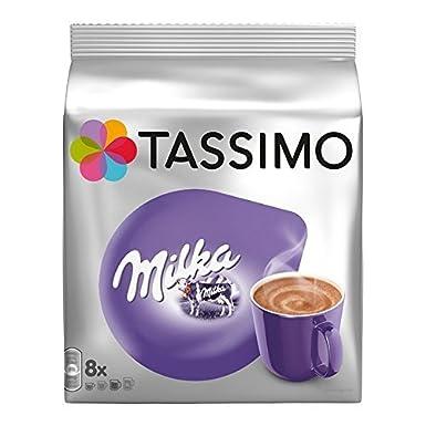 Tassimo Chocolate Milka - 8 tazas (16 cápsulas)