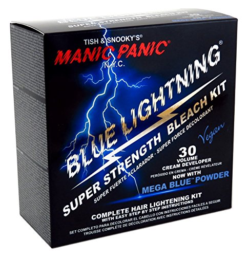 Manic Panic Blue Lightning Bleach Kit (Super - Panic Bleach Manic