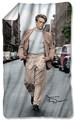 James Dean - Colorful Walk Fleece Blanket 35 x 57in
