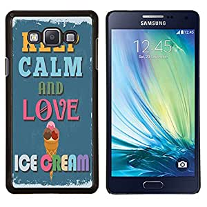 Dragon Case - FOR Samsung Galaxy A7 - Virtue never grows old - Caja protectora de pl??stico duro de la cubierta Dise?¡Ào Slim Fit