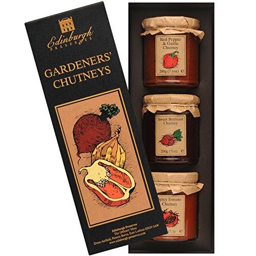 Edinburgh Preserves | Gardener's Chutney Gift Set (Non Food Hampers)