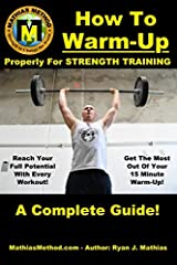 Decrease Pain, Prevent Injury and Improve Performance!Don't ruin your workout before it starts, with cardio! Instead, use this Strength Training Warm-Up Guide to decrease pain, prevent injury, and improve your performance in 15-minutes or les...