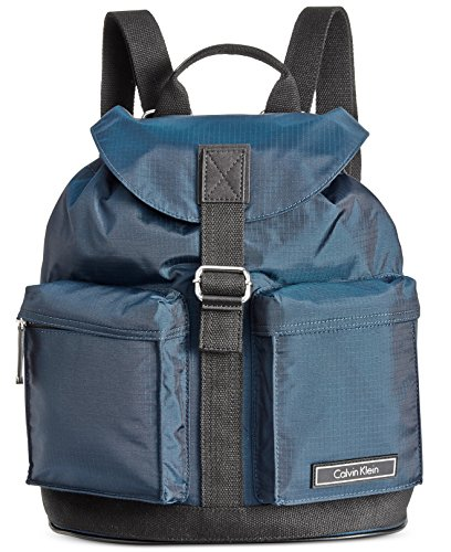 Calvin Klein Ballistic Nylon Backpack (Navy)