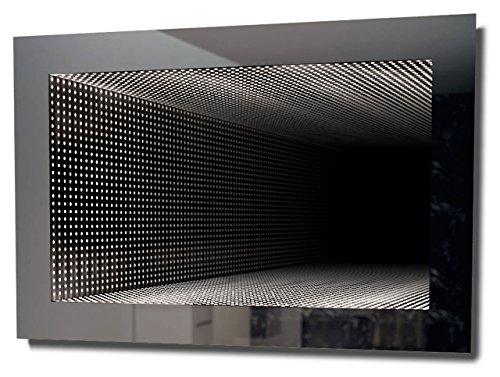 DIAMOND X COLLECTION Perfect Reflection RGB LED Bathroom Infinity Mirror -