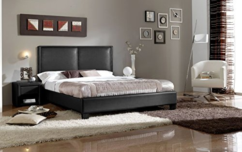 baxton-studio-wholesale-interiors-osim-faux-leather-platform-bed-full-double-black