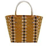 Kimiyar Weave Basket Handmade Beach Summer Rattan Handbags Women Fashion Messenger Causal Shoulder Tote Bag