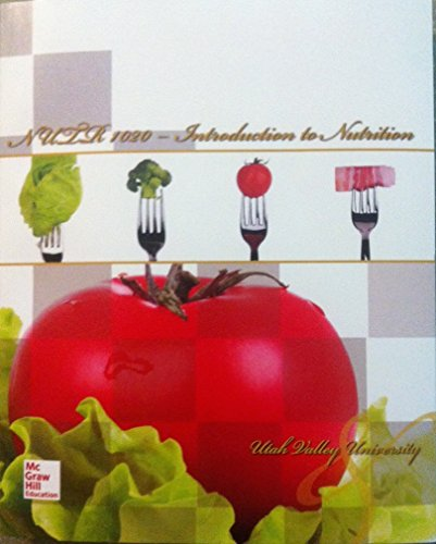 NUTR 1020: Introduction to Nutrition W/CONNECTPLUS