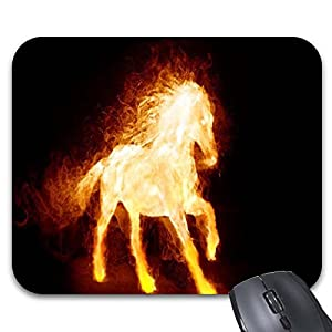 Fire Horse1 Mouse Pad Computer Accessories, Gaming Mouse Mat