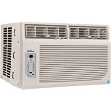 GARRISON 2477797 R-410A Through-The-Window Cool-Only Air Conditioner with Remote Control, 12000 BTU, White
