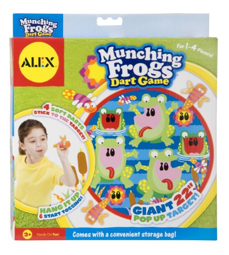 ALEX Toys Active Play Munching Frogs Dart (Tub Target)