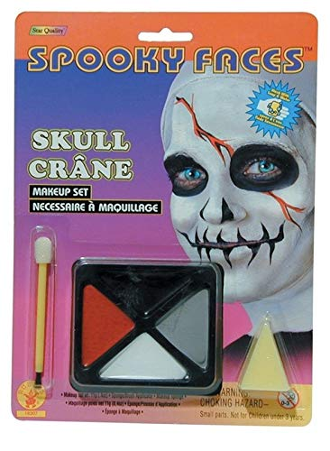 Ovedcray Costume series Spooky Faces Skull -