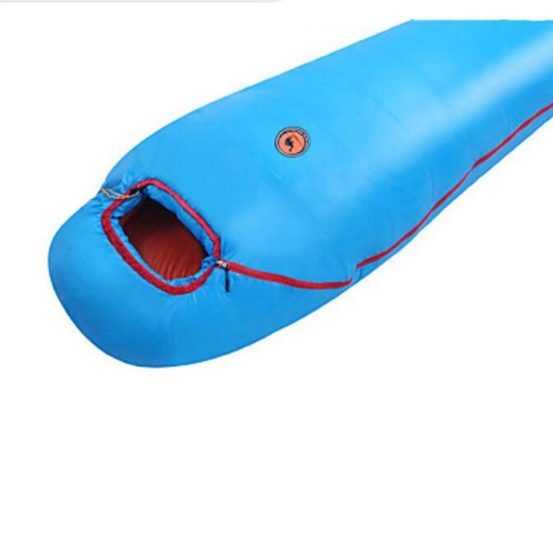 Schlafsack Mumienschlafsack Mumienschlafsack Mumienschlafsack Einzelbett(150 x 200 cm) -3 -7-17 T C BaumwolleX80 Camping warm halten Feuchtigkeitsundurchlässig 2a8dbe