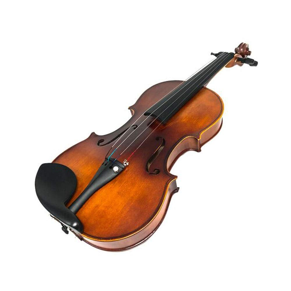 Youshangshipin Violin, 4/4 Adult Violin, SVA-700 80 900 Handmade Solid Wood Full Veneer Instrument, Suitable for Beginners to Play Musical Instruments Fine Texture (Size : 4/4800) by Youshangshipin