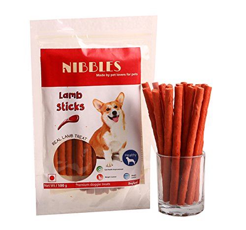 Nibbles Lamb Sticks – 100 gm (Pack Of 4)