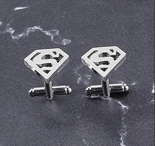 Personality Man Wei Superman Cufflinks by Angelstore Cufflinks (Image #2)