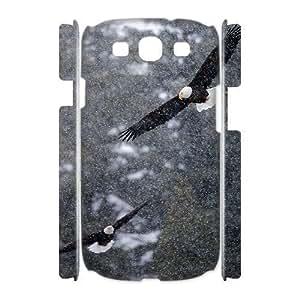 Bald Eagle Customized 3D Cover Case for Samsung Galaxy S3 I9300,custom phone case ygtg579343