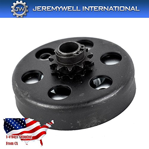 Jeremywell Centrifugal Clutch 5/8 Bore 11 Tooth 11T For 35 Chain For 2.8HP and 97cc Engines (Part Private Garden)