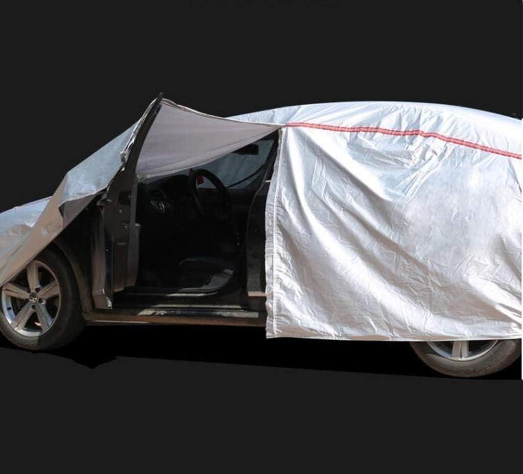 M-X-Y Abdeckplane autoCar Cover All Weather Wasserdichter Schutz mit Rei/ßverschluss Kompatibel mit Volvo,S40