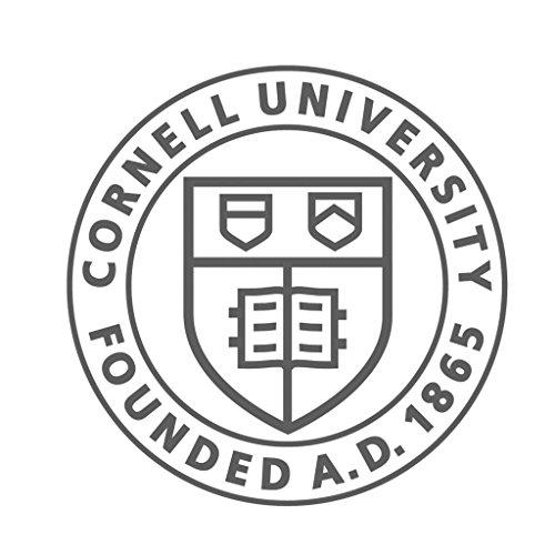Cornell University CreativeStickers0206 Set Of Two (2x) Stickers , Laptop , Ipad , Car , Truck , Size 4 inches on Longer Side - University Window