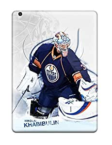 Best hockey nhl edmonton oilers nikolai khabulin f NHL Sports & Colleges fashionable iPad Air cases 3761792K724267396