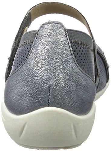 Remonte Dorndorf Womens Denim Blue Leather Flat Shoe Jeans/Denim/Denim tNEUC