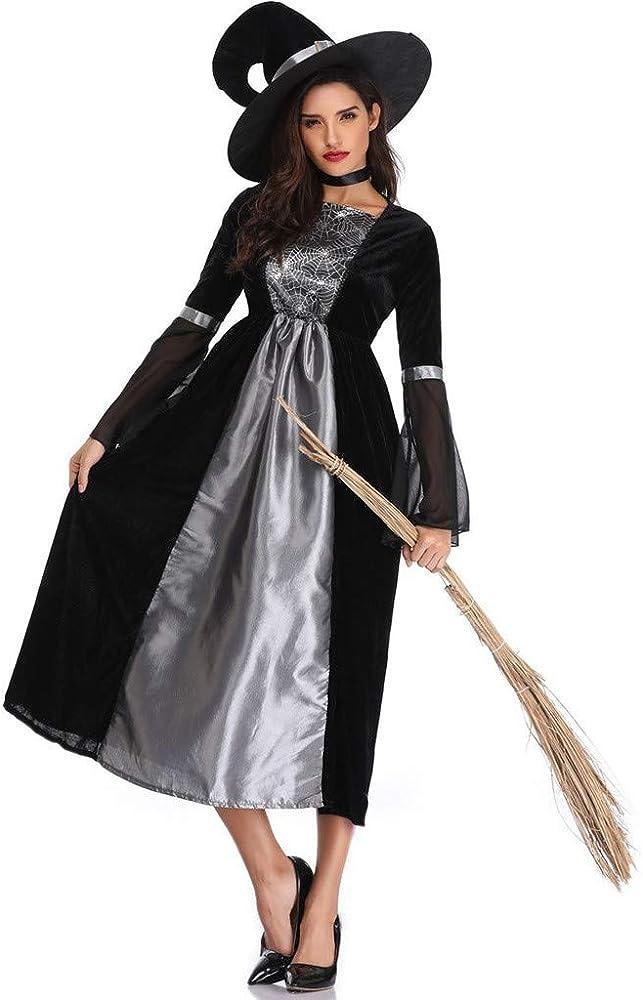 Goosun Disfraz De Bruja para Mujer Halloween Sexy Fiesta Vestido ...