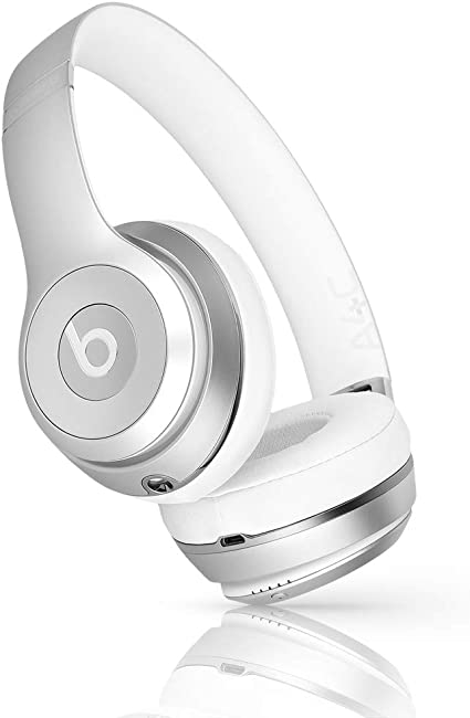 Amazon Com Beats By Dr Dre Beats Solo3 Wireless On Ear Headphones Silver Renewed Electronics