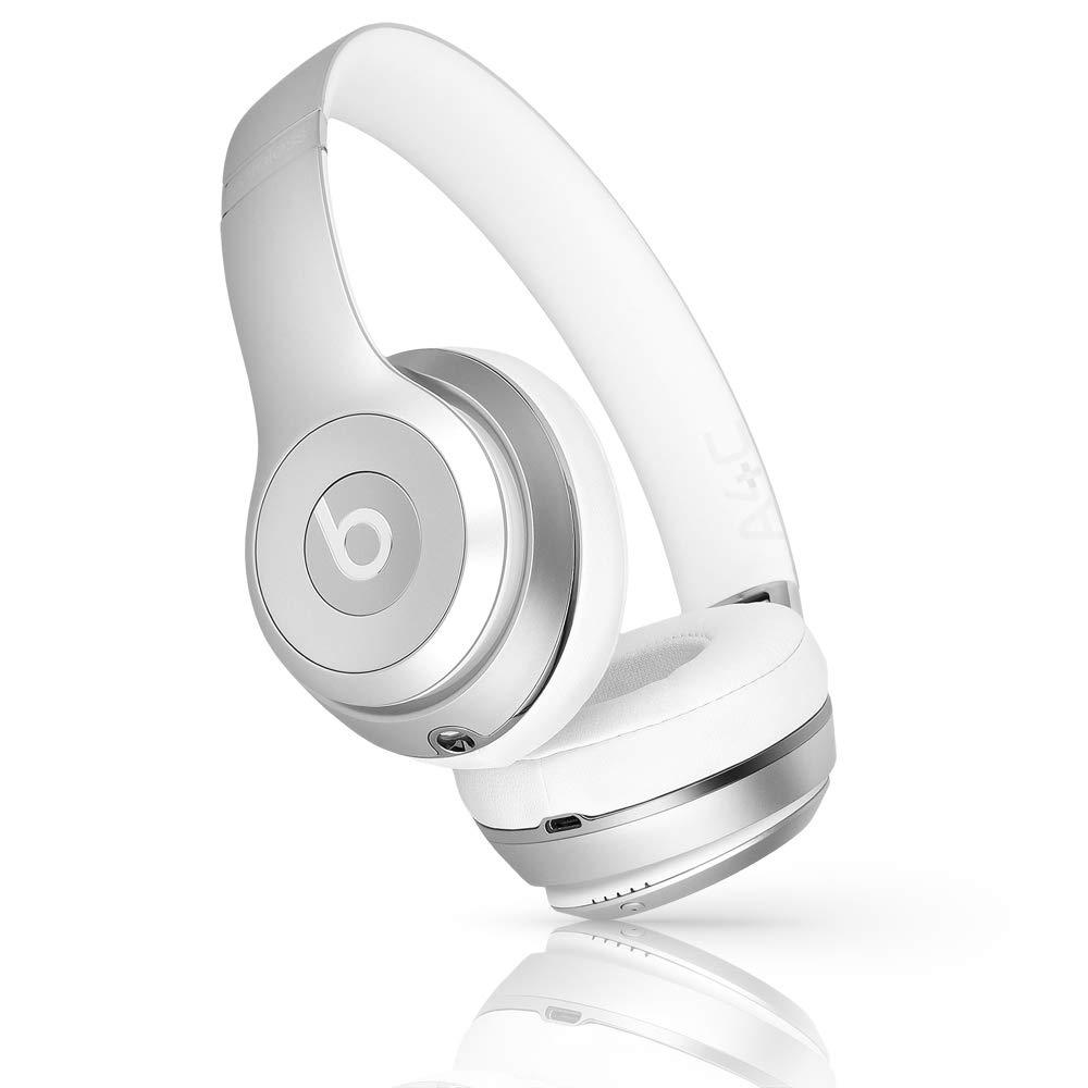 Beats Solo3 Wireless On-Ear Headphones - Silver (Renewed)