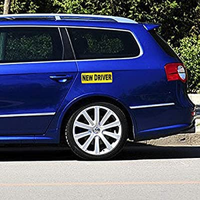 3pcs New Driver Vehicle Car Bumper Sticker Decal Safety Sign 9