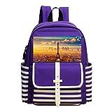 france the city of paris eiffe ShoulderBag Should Bag Handbag School Bag Backpack For Toddler Child Kid