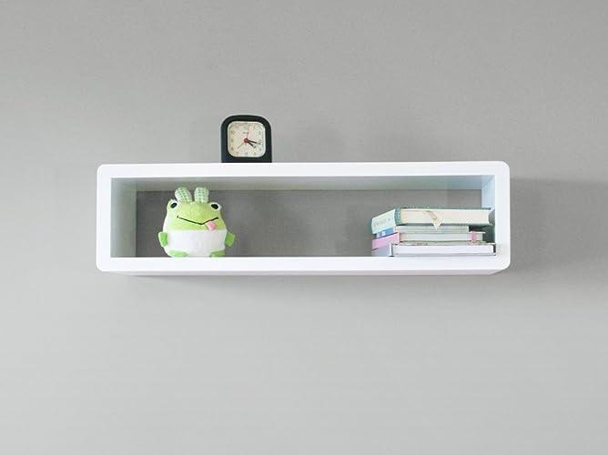 Modern Slim Floating Wall Shelf, Cube Shelf, Wall Cabinet