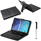Mchoice For Samsung Galaxy Tab E T560 9.6 USB Keyboard Stand Case Cover