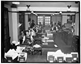 Photo: Clerks,Reconstruction,Finance,Commodity Credit Corporation,loans,interest,c1937