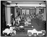 Photo: Clerks,Reconstruction,Finance,Commodity Credit Corporation,loans,interest,c1937