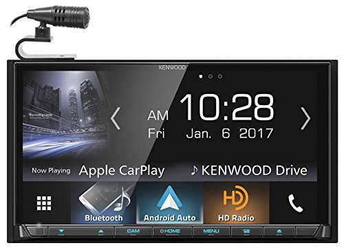 Kenwood DDX9704S In-Dash DVD Receiver with Apple CarPlay & Android Auto by Kenwood (Image #9)