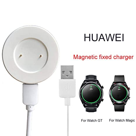 Womdee Huawei Watch Charger, Portable Charger Cable Magnetic Fixed Charger for Huawei Smart Watch GT Glory Magic