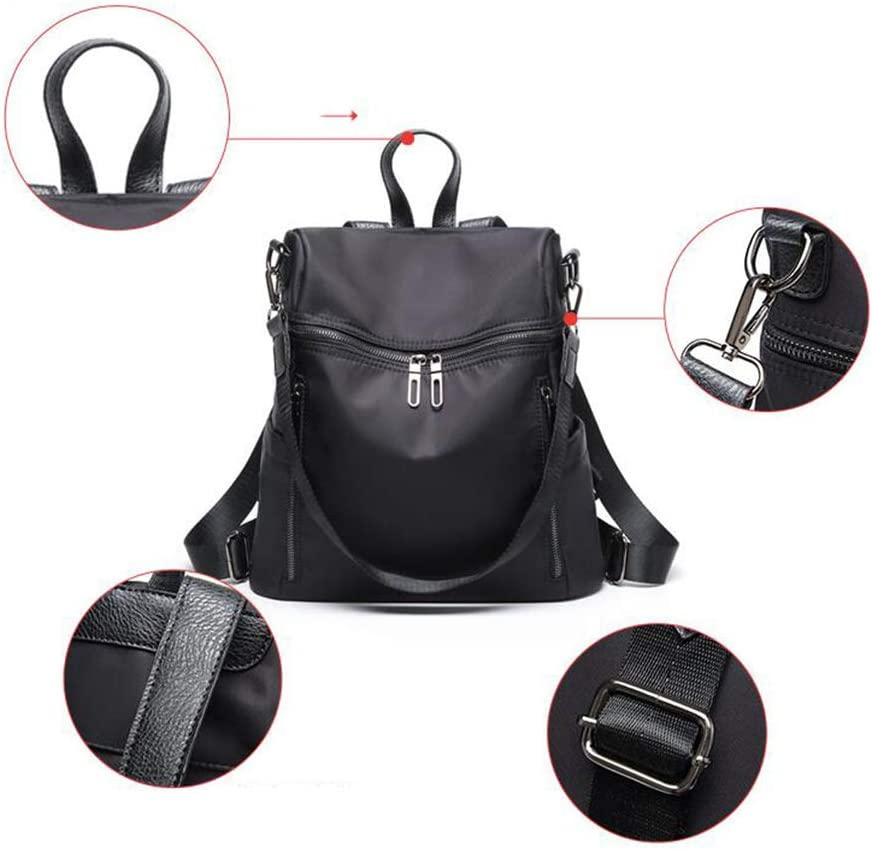 Lady Backpack Waterproof Wear-Resistant Cloth Campus Bag Fashion Wild Shopping Backpack Shoulder Bag Color : A, Size : 333113cm Qzny Womens Backpack