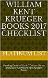 William Kent Krueger Books 2017 Checklist: Reading Order of Cork O'Connor Series and List of All William Kent Krueger Books