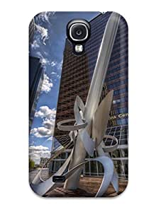 Durable The Shiny Sculpture Back Case/cover For Galaxy S4