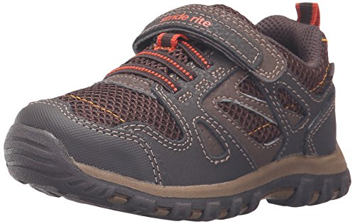 Brown Boys Shoes (Stride Rite Made 2 Play Artin Running Shoe (Little Kid), Brown, 11 M US Little Kid)