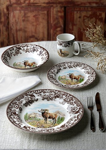 Spode 1597068 Woodland Bighorn Sheep Dinner Plate