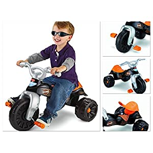 Trike Motorcycle Trikes For Toddler Bike Children's Ride Boy Big Foot Pedals 3 Wheel Toddler durable Tires And Stable - House Deals