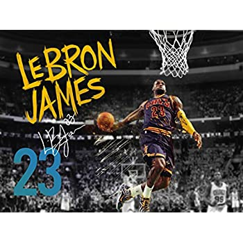 4cee60f805cf 777 Tri-Seven Entertainment Lebron James Poster Cleveland Cavaliers 23  Photo Art Print (24x18)