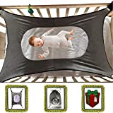 Baby Hammock for Crib Mimics Womb Newborn Bassinet Strong Material Upgraded Safety Measures Infant Nursery Travel Bed Reduce Environmental Risk Associated with Early Infancy Baby Shower Gift