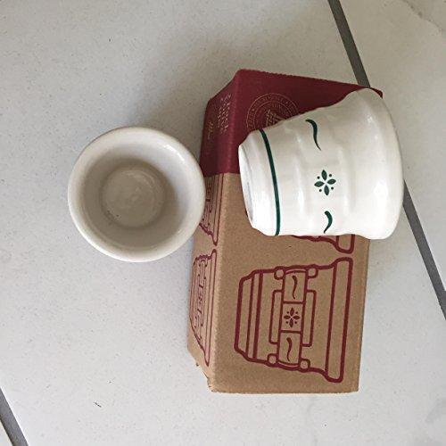 Longaberger 2 Pack Votive Cups - Green