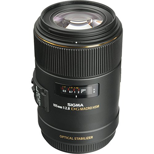 Sigma 105mm F2.8 EX DG OS HSM Macro Lens for Canon - 1